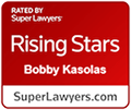 Super Lawyers Rising Stars Icon - Click to Open Link